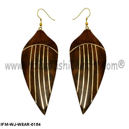 Passion Exotica  - Wooden Earrings