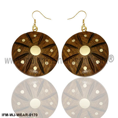 Wings of Dreams - Wooden Earrings