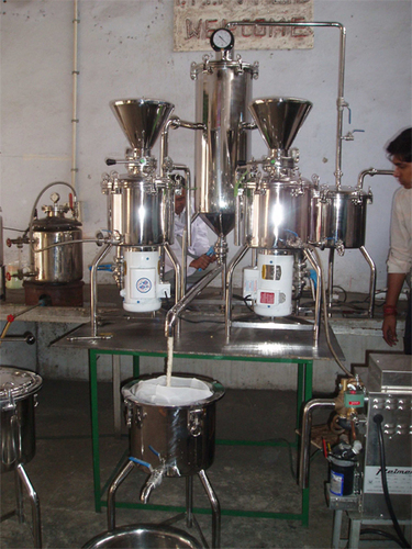Soya Milk Plant machinery