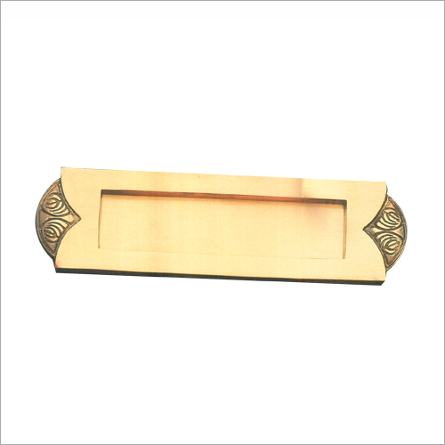 Brass Door Handle Set