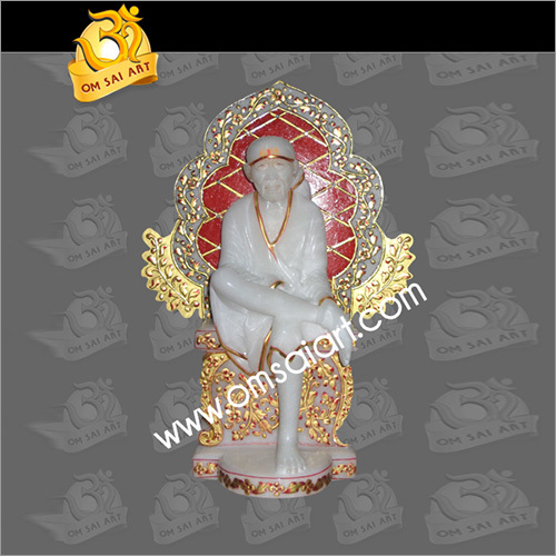 Saibaba Singhasan Statue
