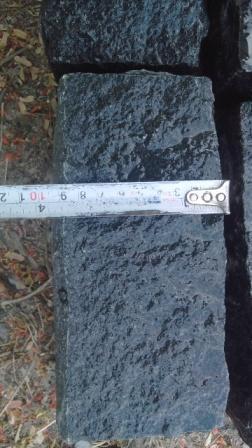 Black Granite Cobbles Stone