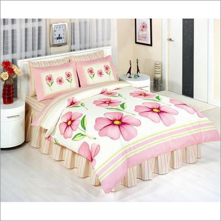 Floral Printed Bed Sheet