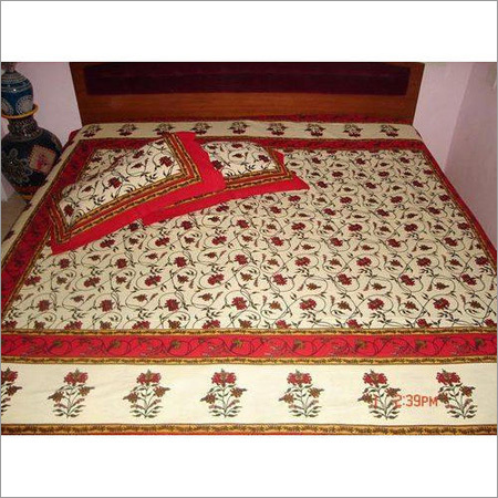 Designer Printed Bed Sheet