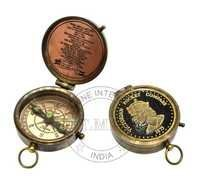 Antique Victorian Pocket Compass
