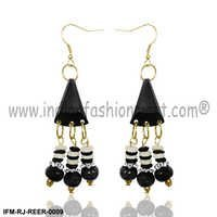 Pompous Avoyel-Resin Earrings