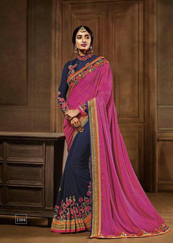 Heavy Georgette Saree