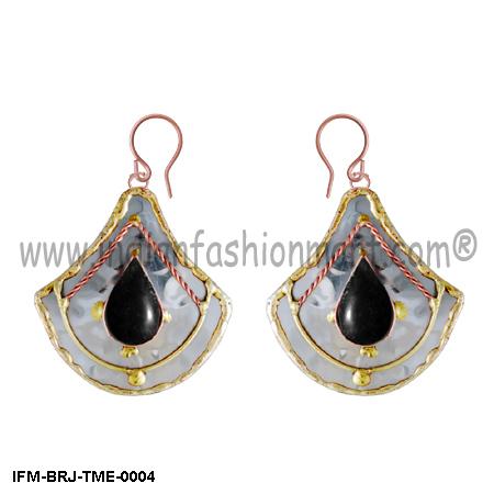 Wings of Charisma  - Trimetal Earrings