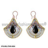 Wings of Charisma  - Trimetal Earrings