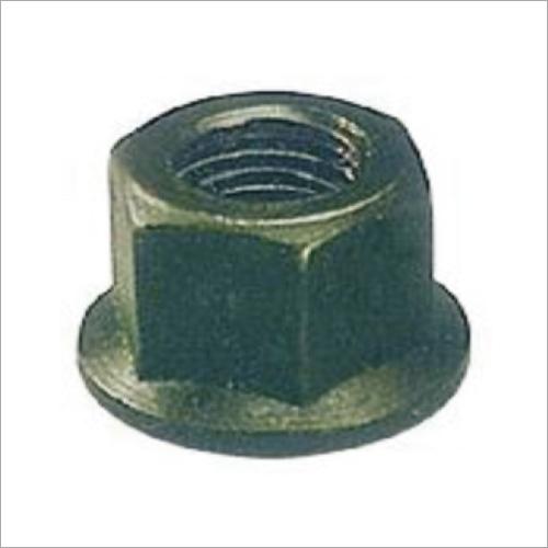 Flange Nut (Forged, Hardened & Tempered, Black Finish)