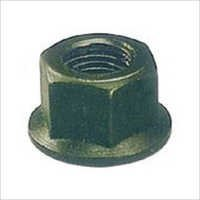 Flange Nut (Forged, Hardened & Tempered, Black Finish)
