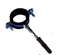 Pipe Rubber Clamp with Bolt and Plug