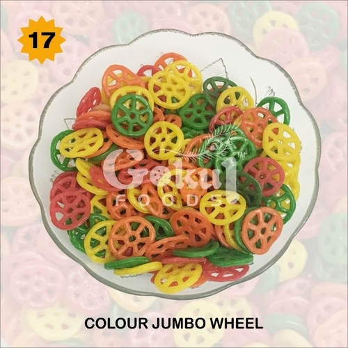 Colour Jumbo Wheel Fryums