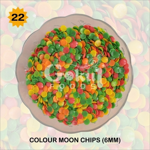 6mm Color Moon Chips Fryums