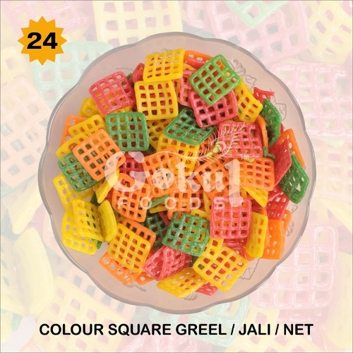 Colour Square Grill Fryums