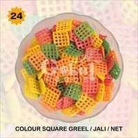 Colour Square Grill Fryums