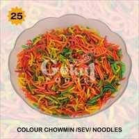 Colour Chow Mein  Noodles Fryums