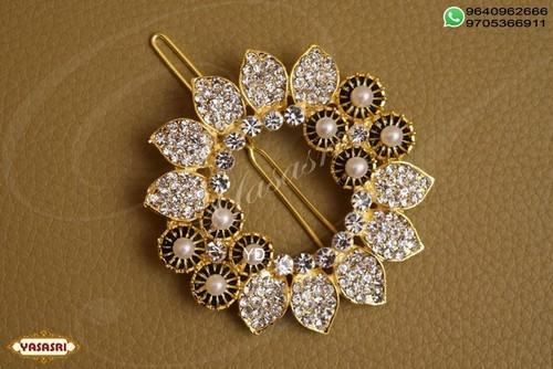 Cz Fancy Hair Pin