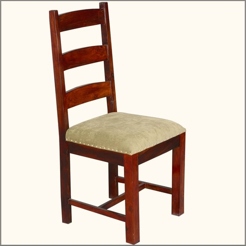 Stylish Golden Brown Upholstered Dining Chair