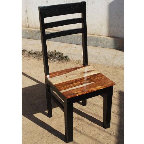 High Back School Black Chair