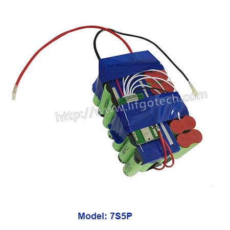 26V lihtium battery pack