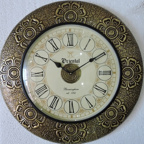 Brass Design Wall Clocks