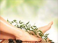 Toe Aroma Massage