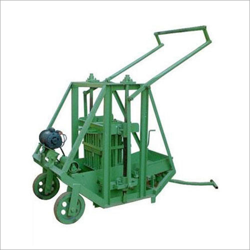 Manual Egg Laying Type Block Machine
