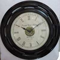 Wooden Polished Wall Clock