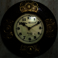 Brass Wall Clock