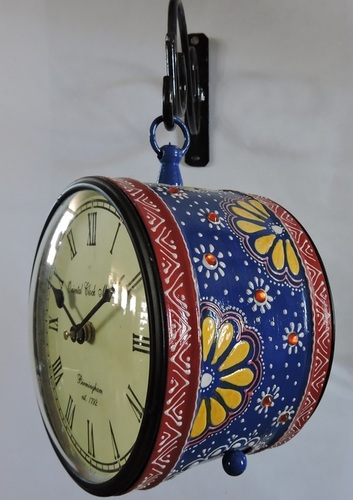 Hand Painted Station Clock