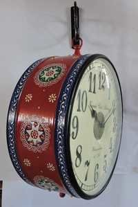 Hand Painted Platform Clock