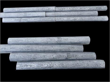 Silver Gray Bamboo wave
