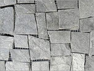 Silver Gray Random Rectangles
