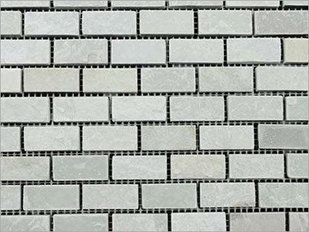 Himachal White Mosaic Brick