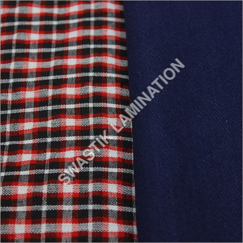 Denim Check Fabric