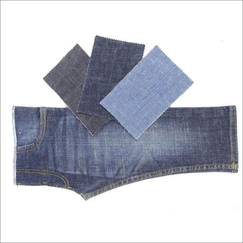 Polyester Mercerized Denim Fabric
