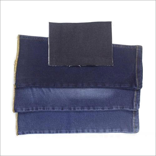 Polyester Blue Denim Fabric
