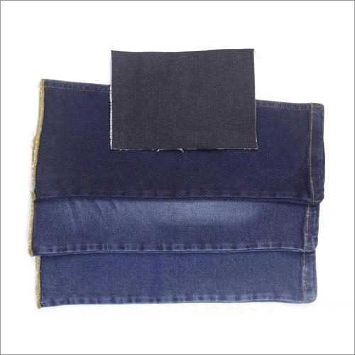 Polyester Blue Denim Fabric