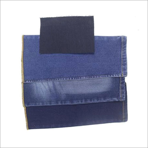 Polyester Shaded Denim Fabric
