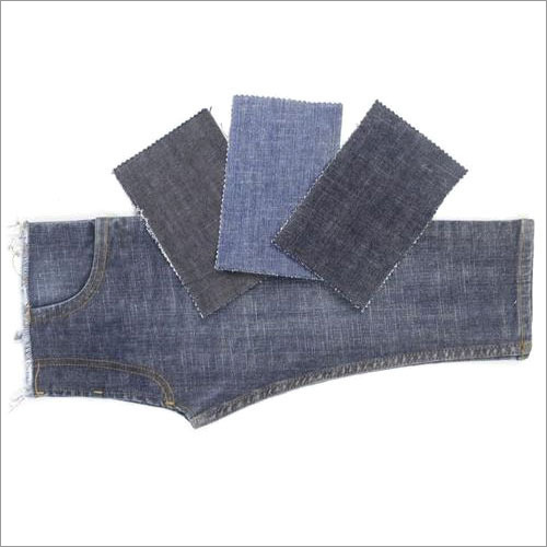 Polyester Stretch Denim Fabric