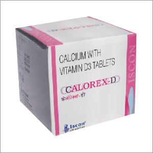 Calcium Carbonate Vitamin D3 Tablets