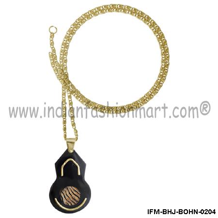 Pharaonic  Superfluity  - Horn Pendant