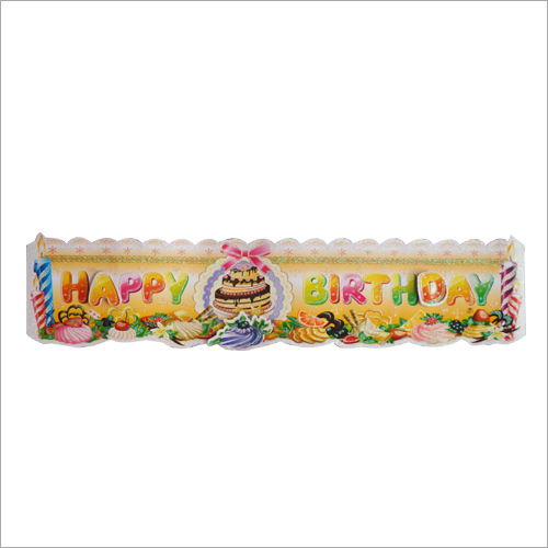 Designer Birthday Banner