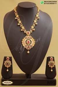 Cz Fancy Traditional Necklace