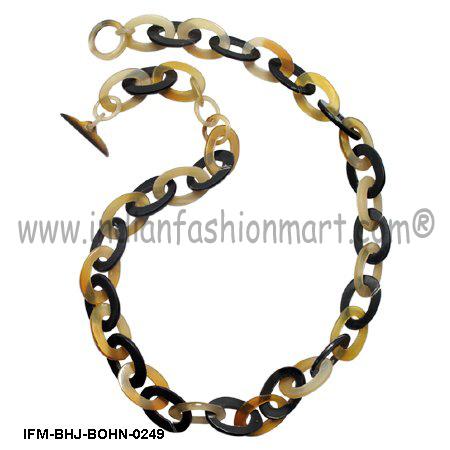 Sesquipedalian  Nimble -  Horn Necklace