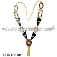 Bon Finesse - Horn Fusion Necklace