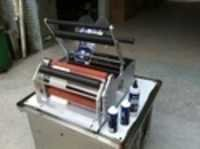 semi auto labelling machine
