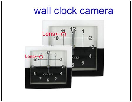 Spy 4 GB Wall Clock Camera
