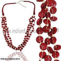 Sensual Bibs -Bone Necklace